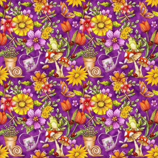 Garden Glory -Purple
