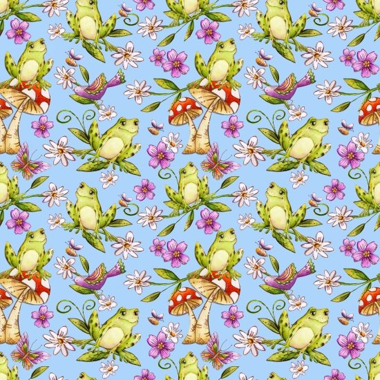 Garden Glory -Frogs