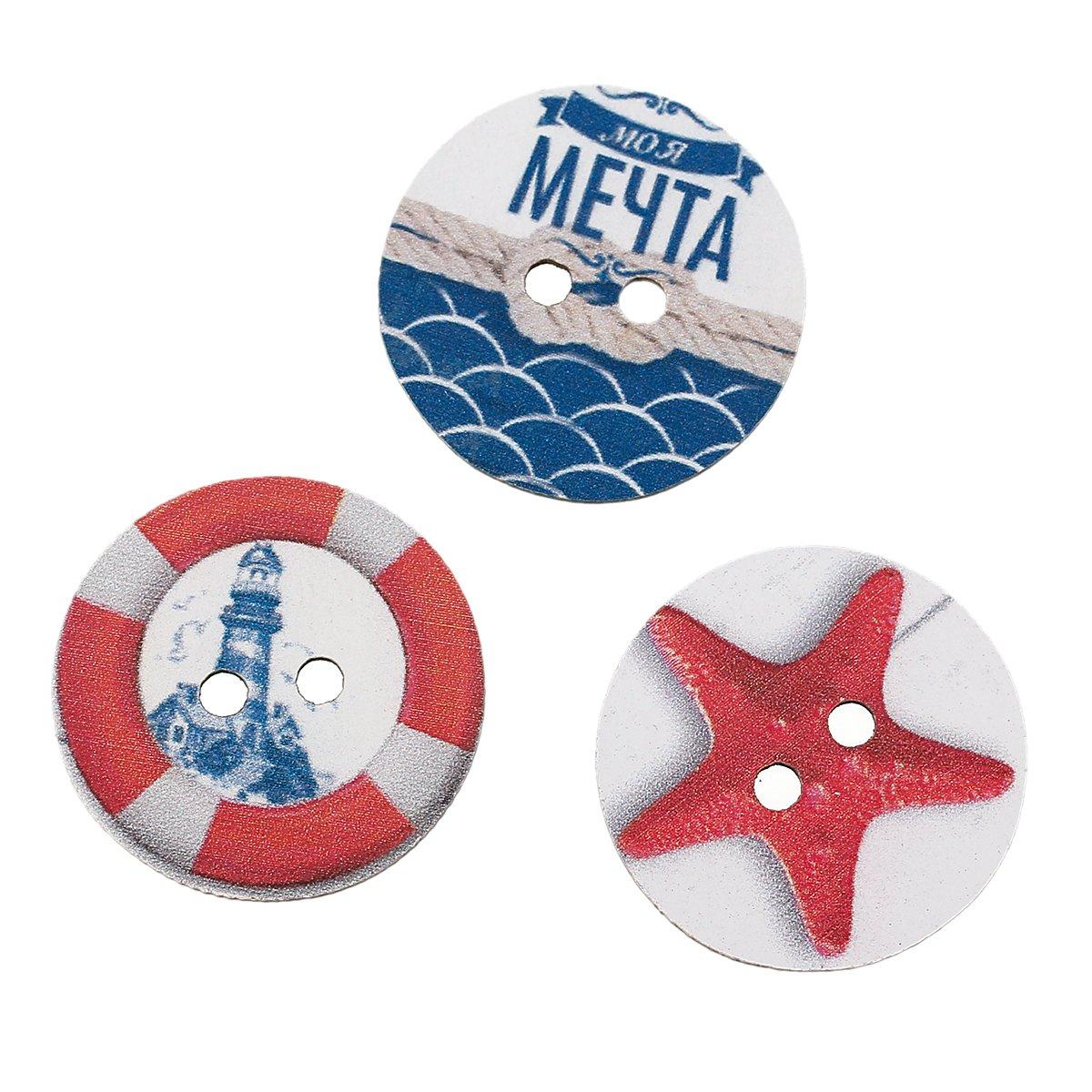 Ocean Themed Buttons 1