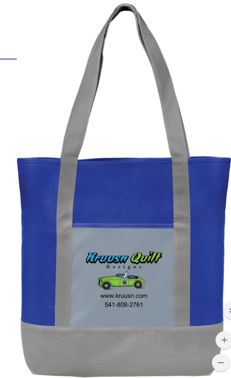 Kruusn Quilt Designs - Promotional Tote Bag