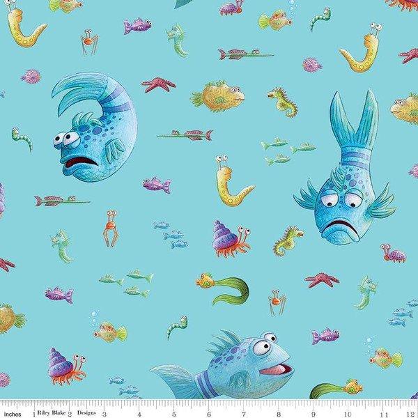 Pout Pout Fish - Aqua