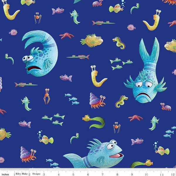 Pout Pout Fish -Blue