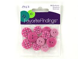 Favorite Findings Pink Dots & Stripes