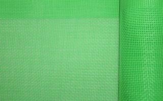 Vinyl Mesh - Green