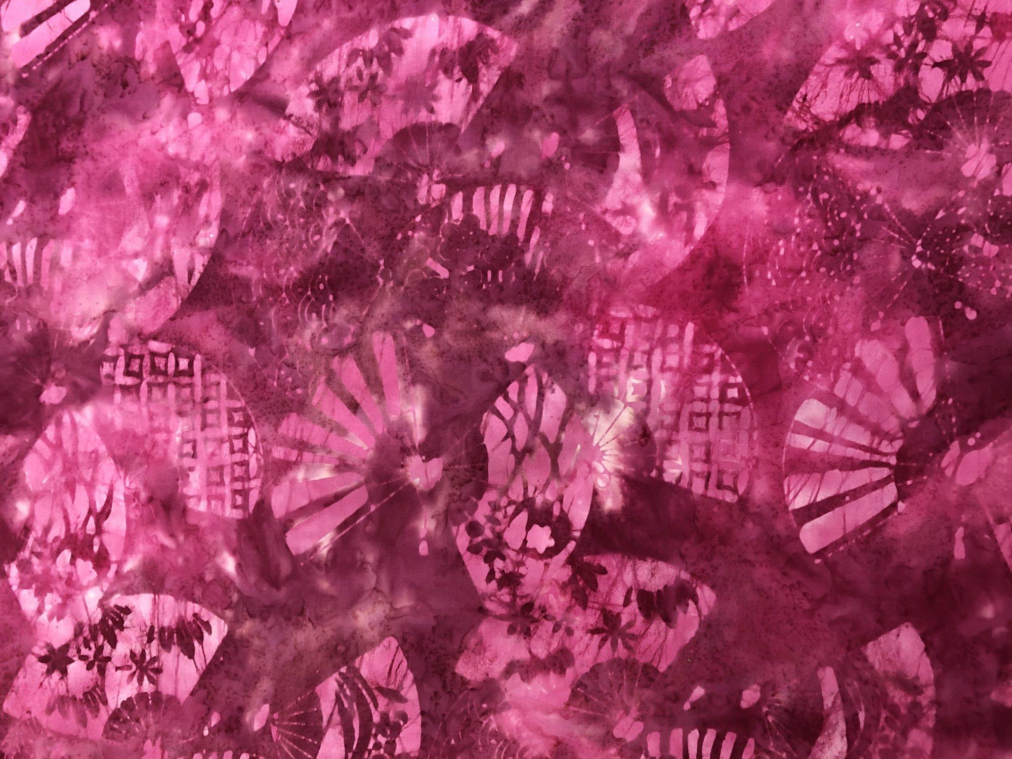 Batik - Coral Fans