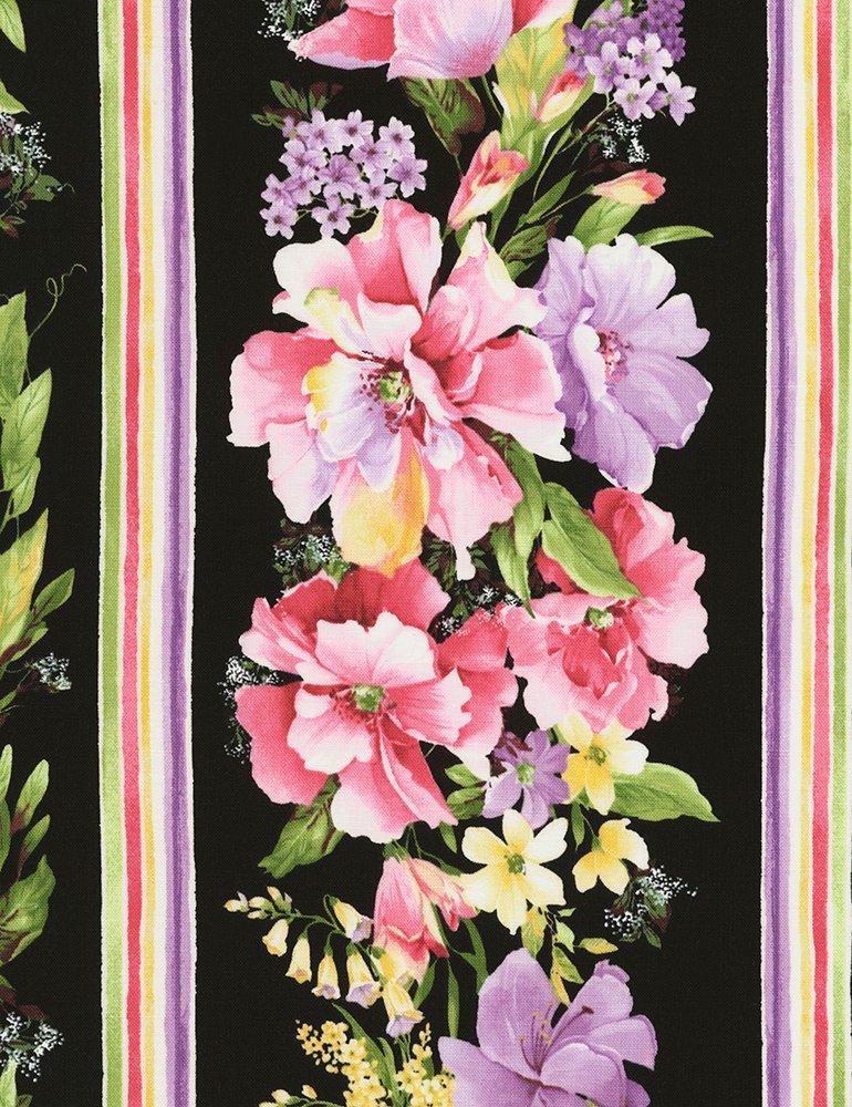 Isabelle Floral Border Print