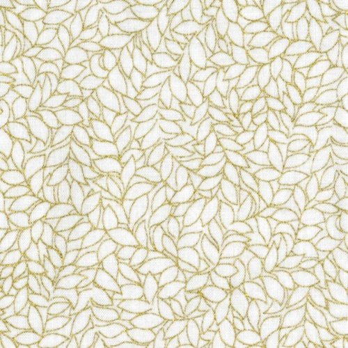 Honeystone Hill - White/Gold Metallic