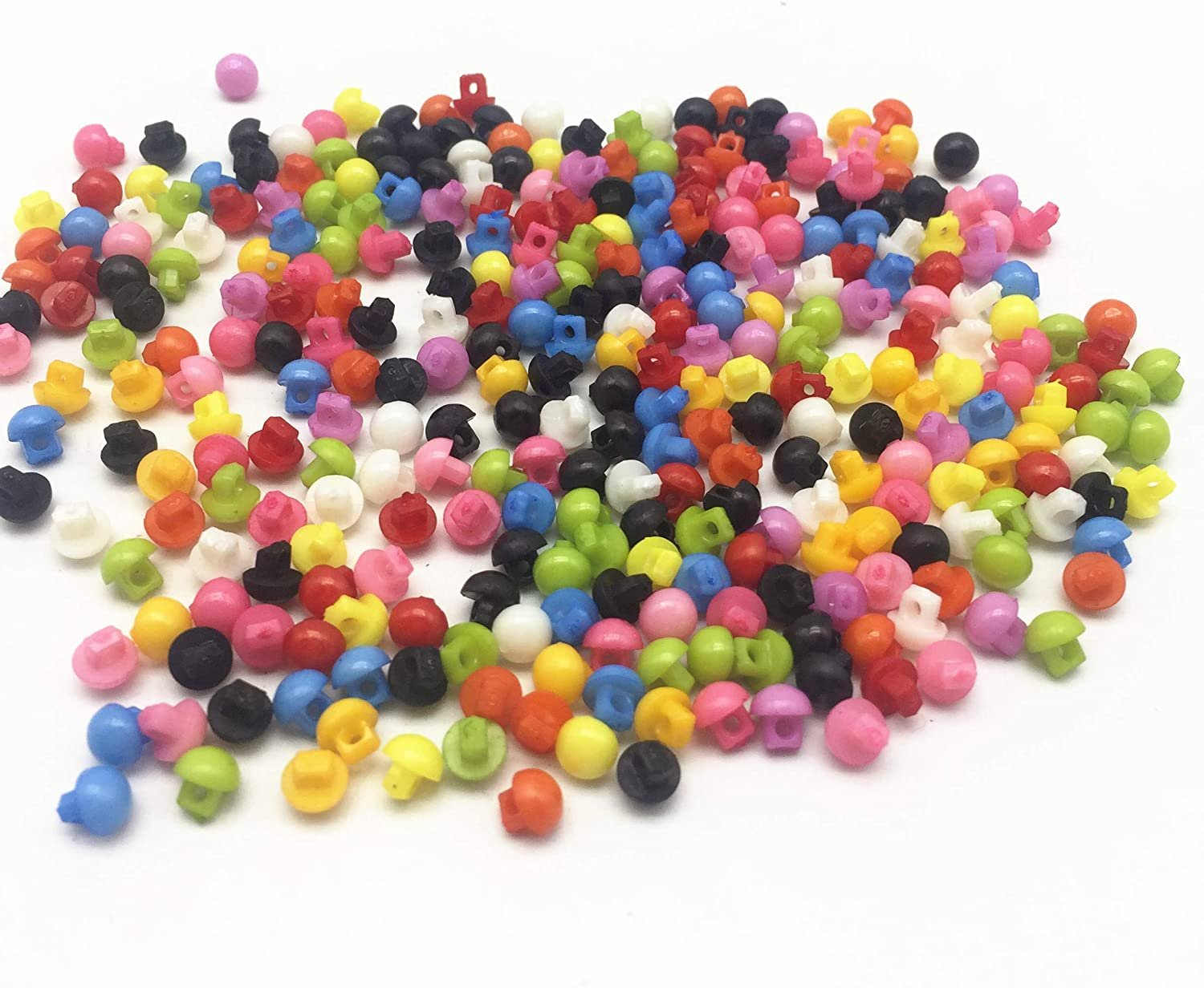 Resin Sewing Buttons 1/8 - Shank