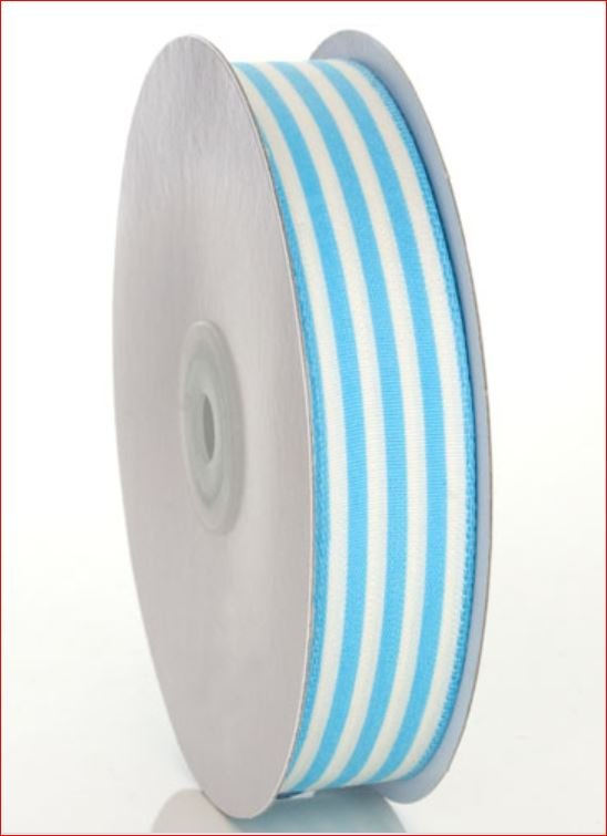 Striped Blue Ribbon