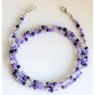 Face Mask or Glasses Neck Strap Lanyard Purple