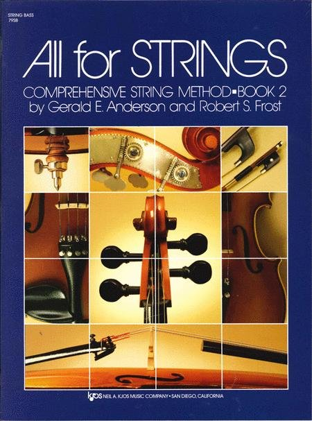 All for Strings- Comprehensive String Method Book 2 for String Bass