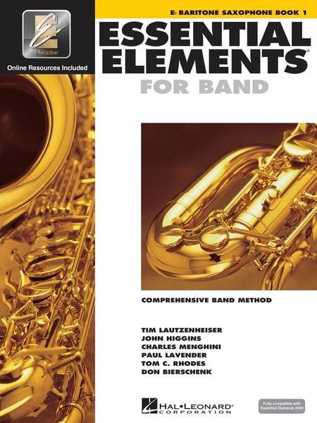 Essential Elements Book 1 for Baritone Saxophone