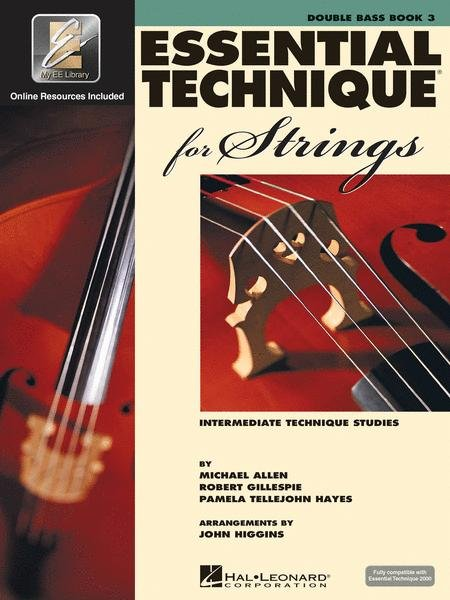 Essential Elements for Strings Book 3 for Double Bass