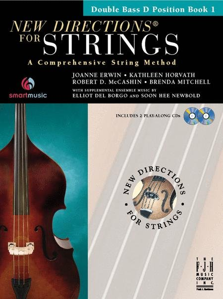 New Directions for Strings Book 1 for Double Bass D Position