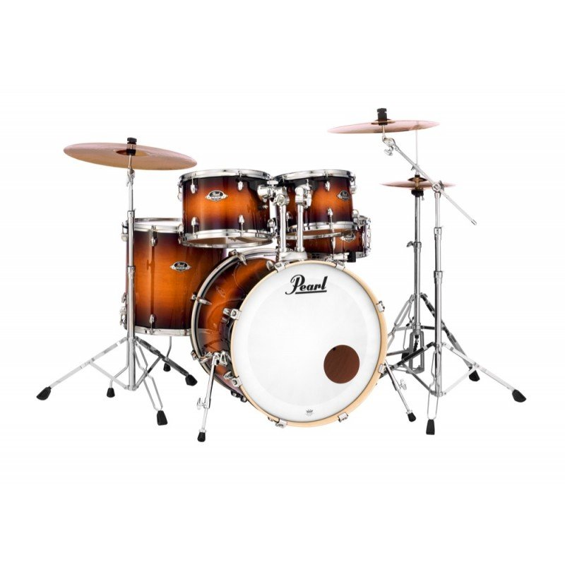 Pearl Export EXL Lacquer 5-Piece Drumkit in Gloss Tobacco Burst (#222)