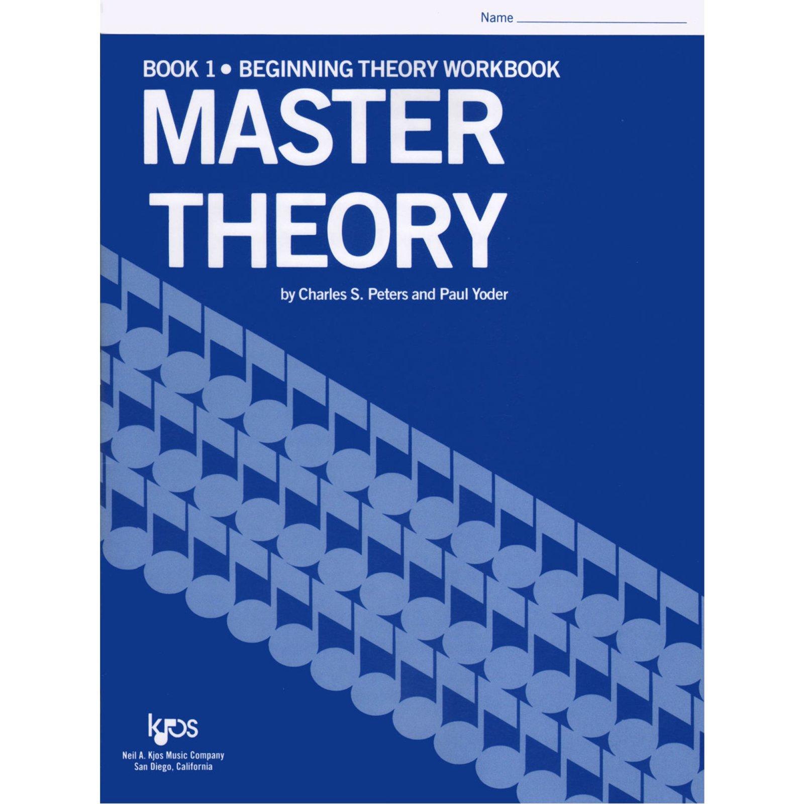 Master Theory Book 1- Beginning Theory Workbook