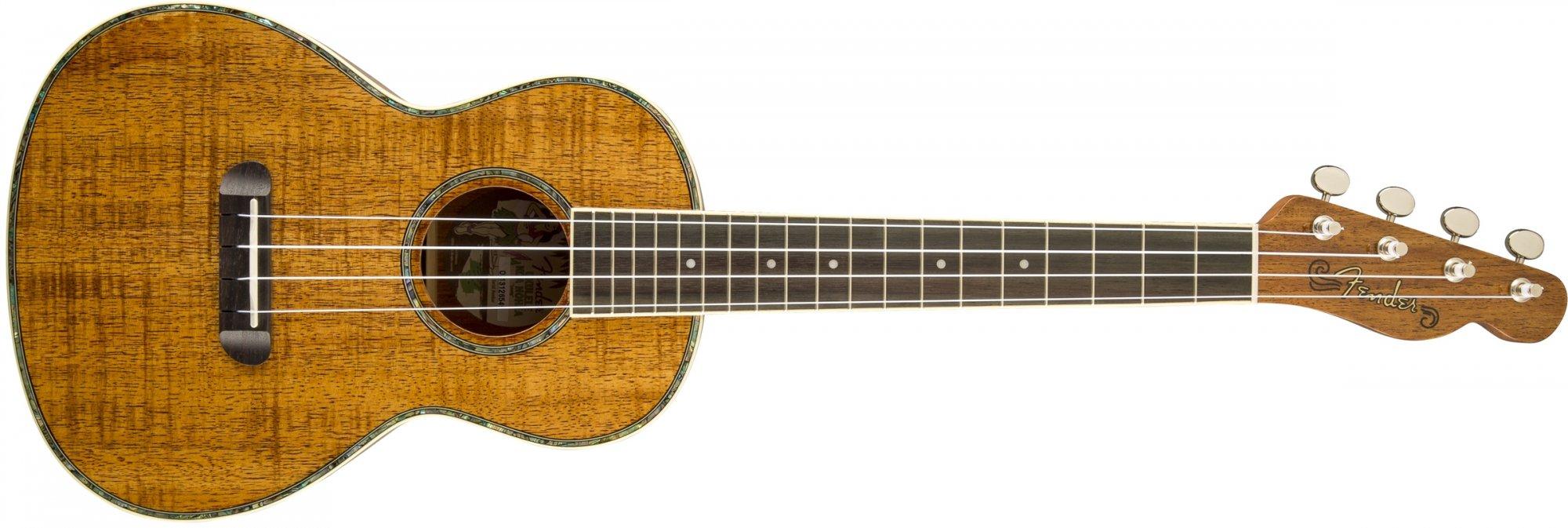 Preowned Fender Koa Nohea Tenor Ukulele