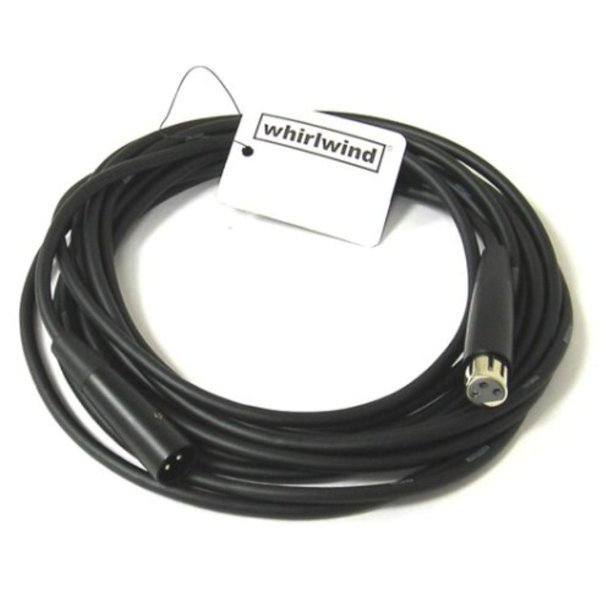 Whirlwind 20ft Microphone Cable- Connect EMC20 Low-Z Mic cable