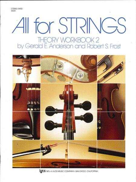 All for Strings Theory Workbook 2 for String Bass