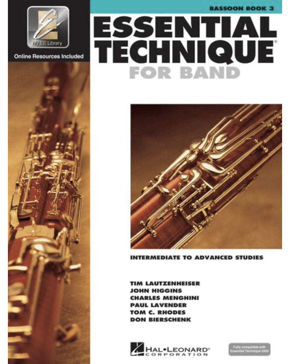 Essential Elements Book 3 for Bassoon