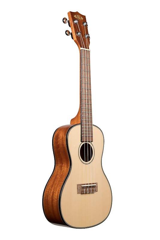 Kala Solid Spruce Mahogany Concert Ukulele