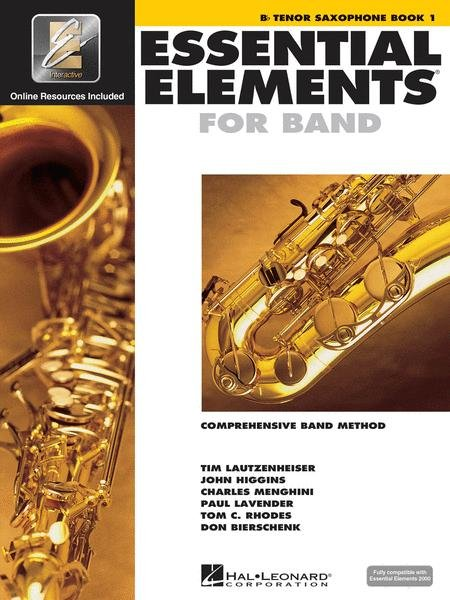 Essential Elements Book 1 for Tenor Saxophone