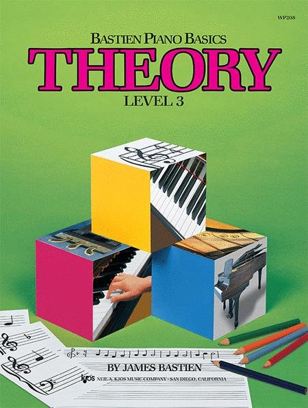 Bastien Piano Basics Piano Theory Level 3 Book
