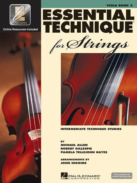 Essential Technique for Strings Book 3 for Viola
