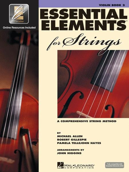 Essential Elements for Strings Book 2 for Violin