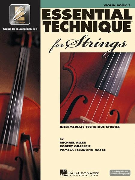 Essential Elements for Strings Book 3 for Violin