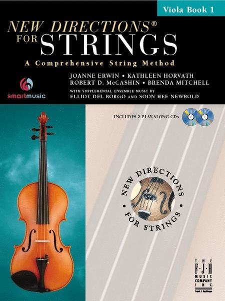 New Directions for Strings Book 1 for Viola