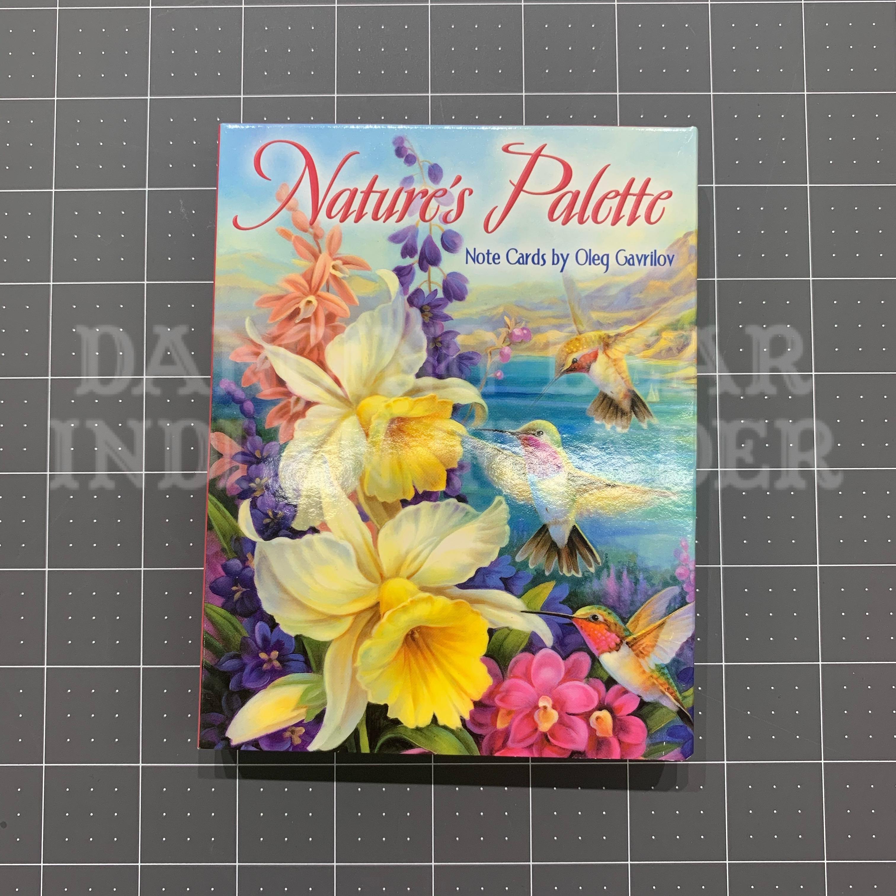 Natures Palette Note Cards by Olg Gavrilov