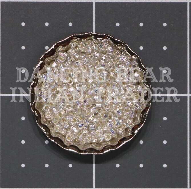 110-635 Crystal AB Silver-Lined Japanese 11/0