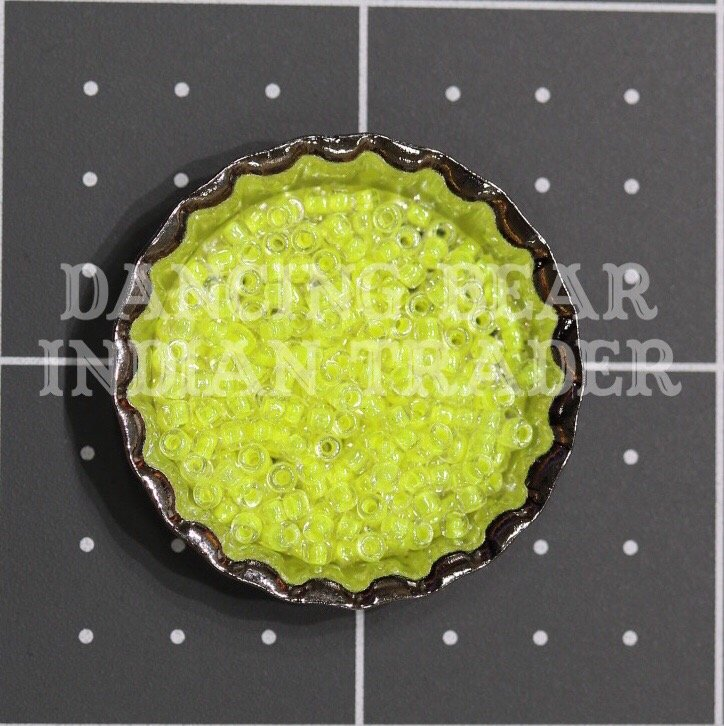 110-206C Crystal Neon Yellow CL Japanese 11/0