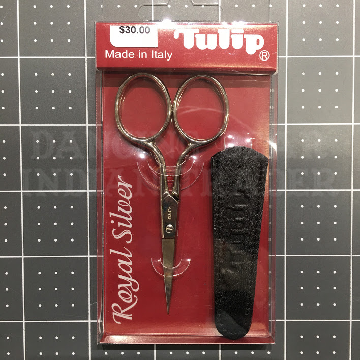 Tulip Scissors-Royal Silver