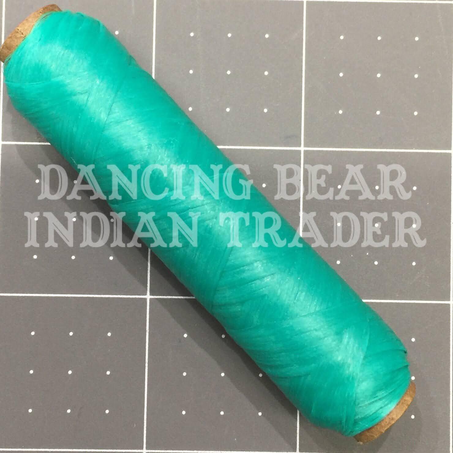 US Sinew Bobbin Turquoise