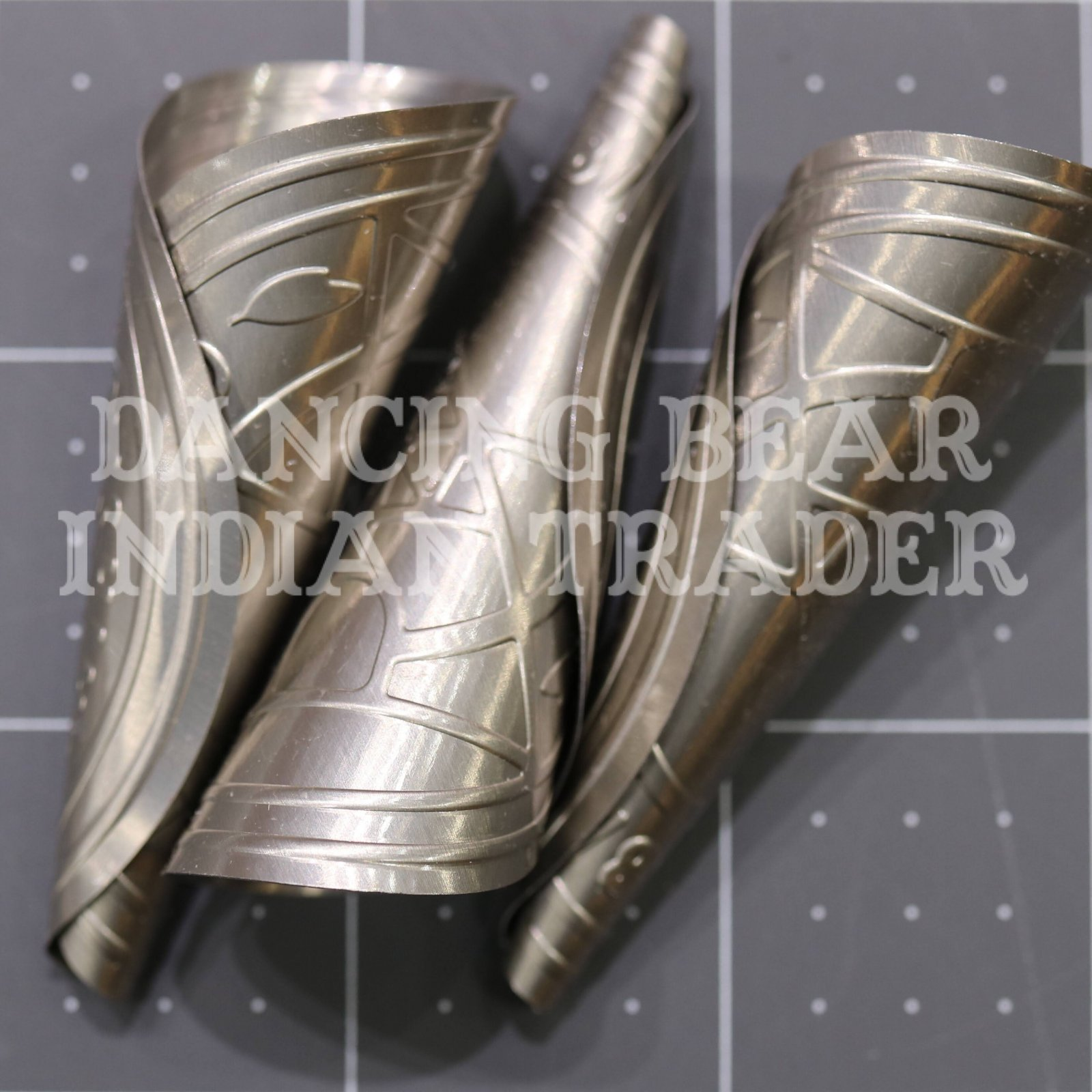 Anishinaabe Bimishimo Adult Jingles 100 pc Nickel Silver