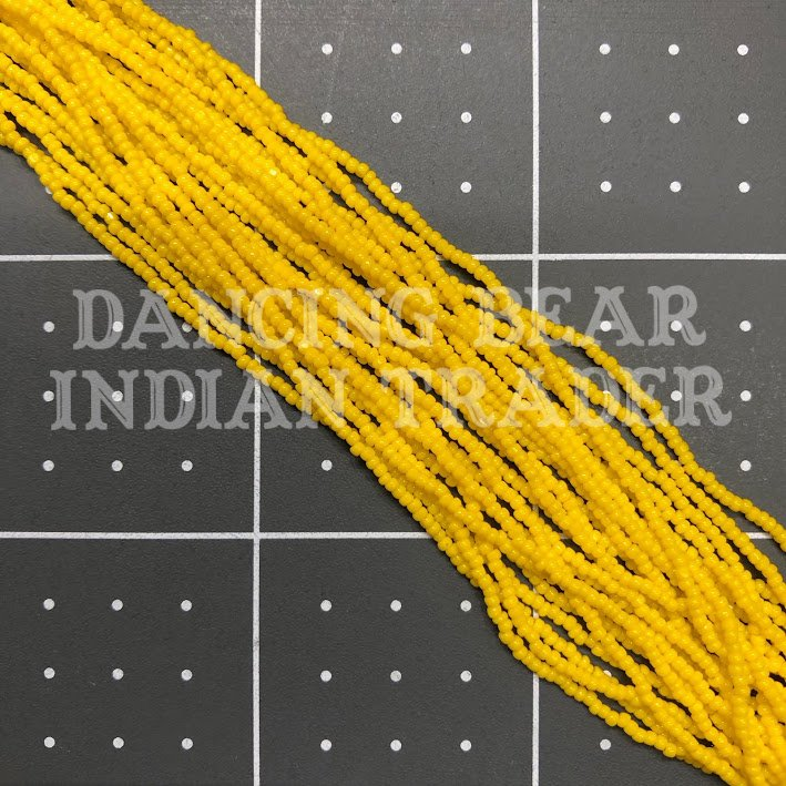 15c-147OP Dark Yellow, Short Hank