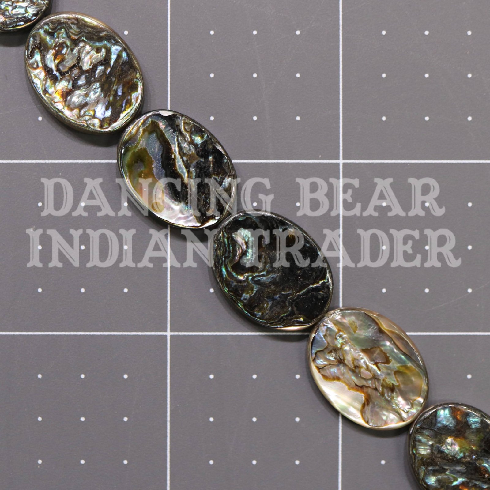 Abalone15x20mm Oval Strand