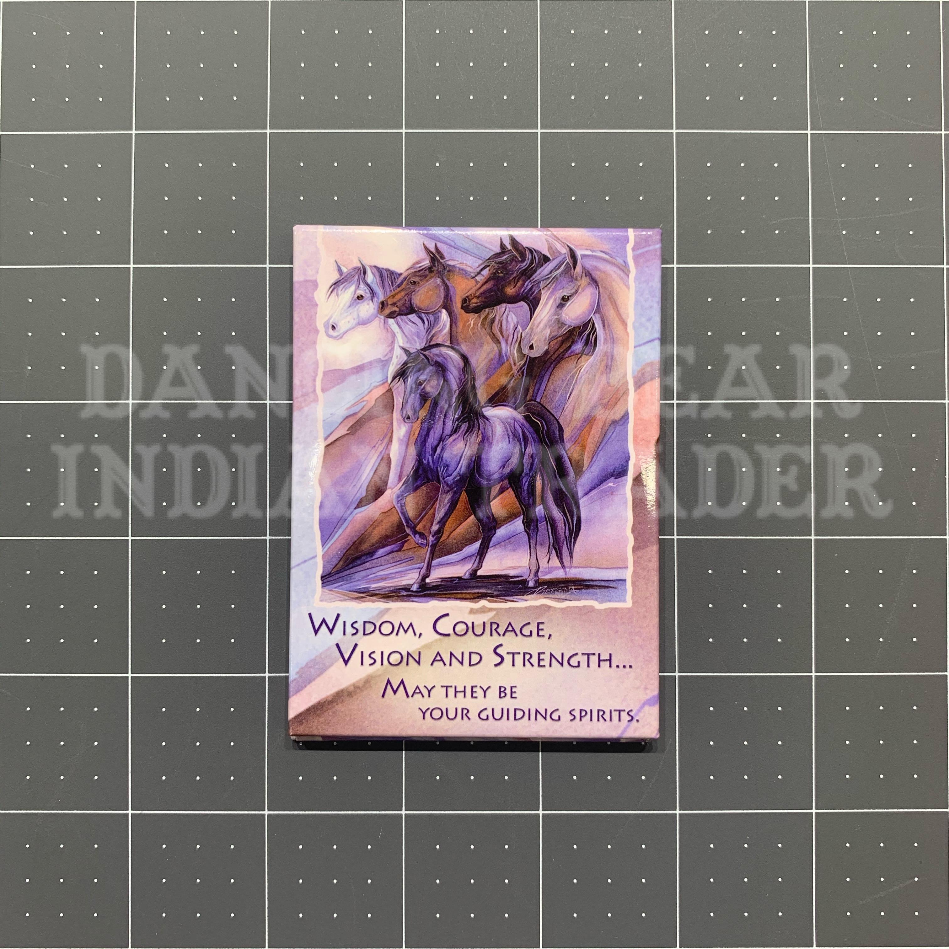 MGR31135 Horses (Wisdom) Magnet
