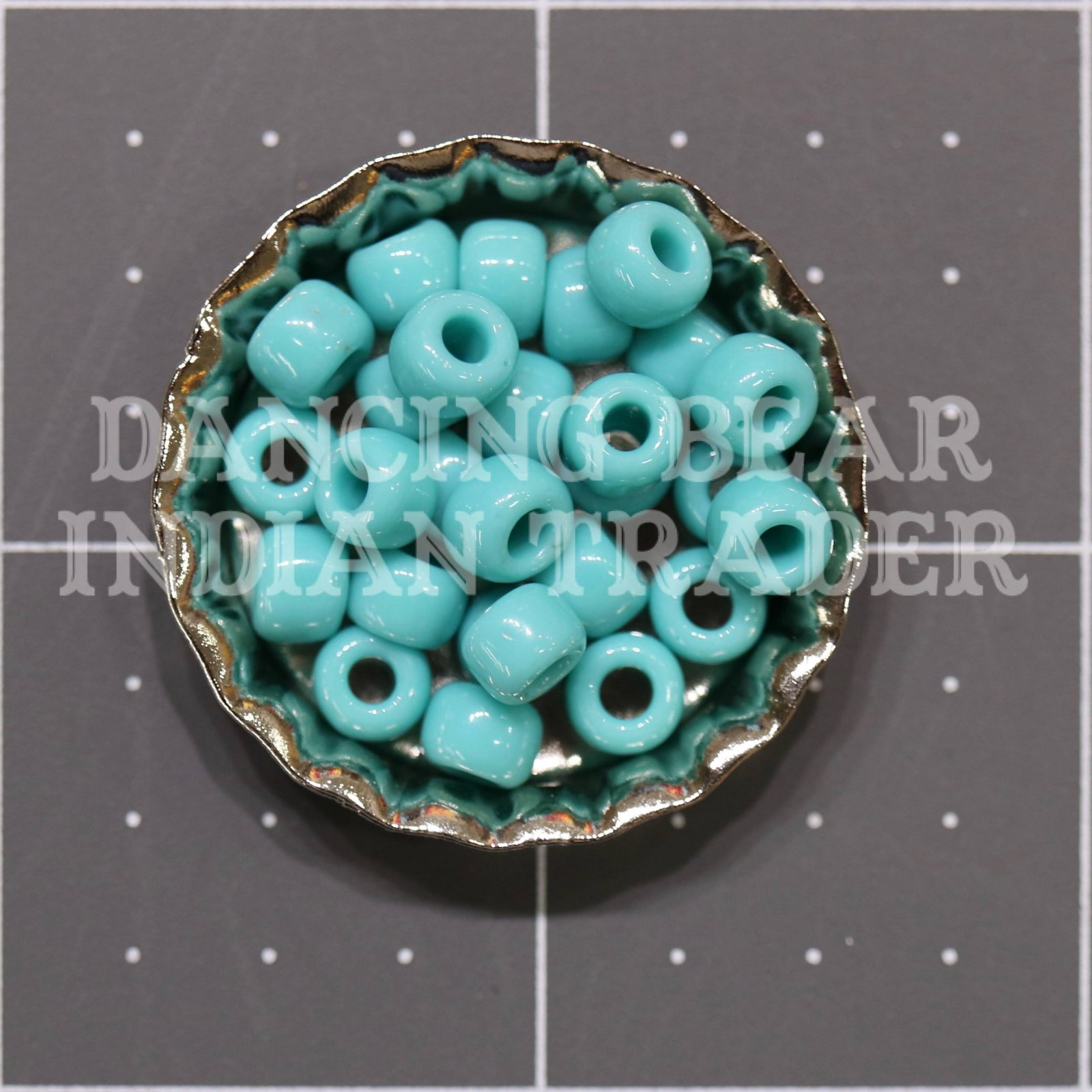 30-412D Turquoise Green Japanese 3/0