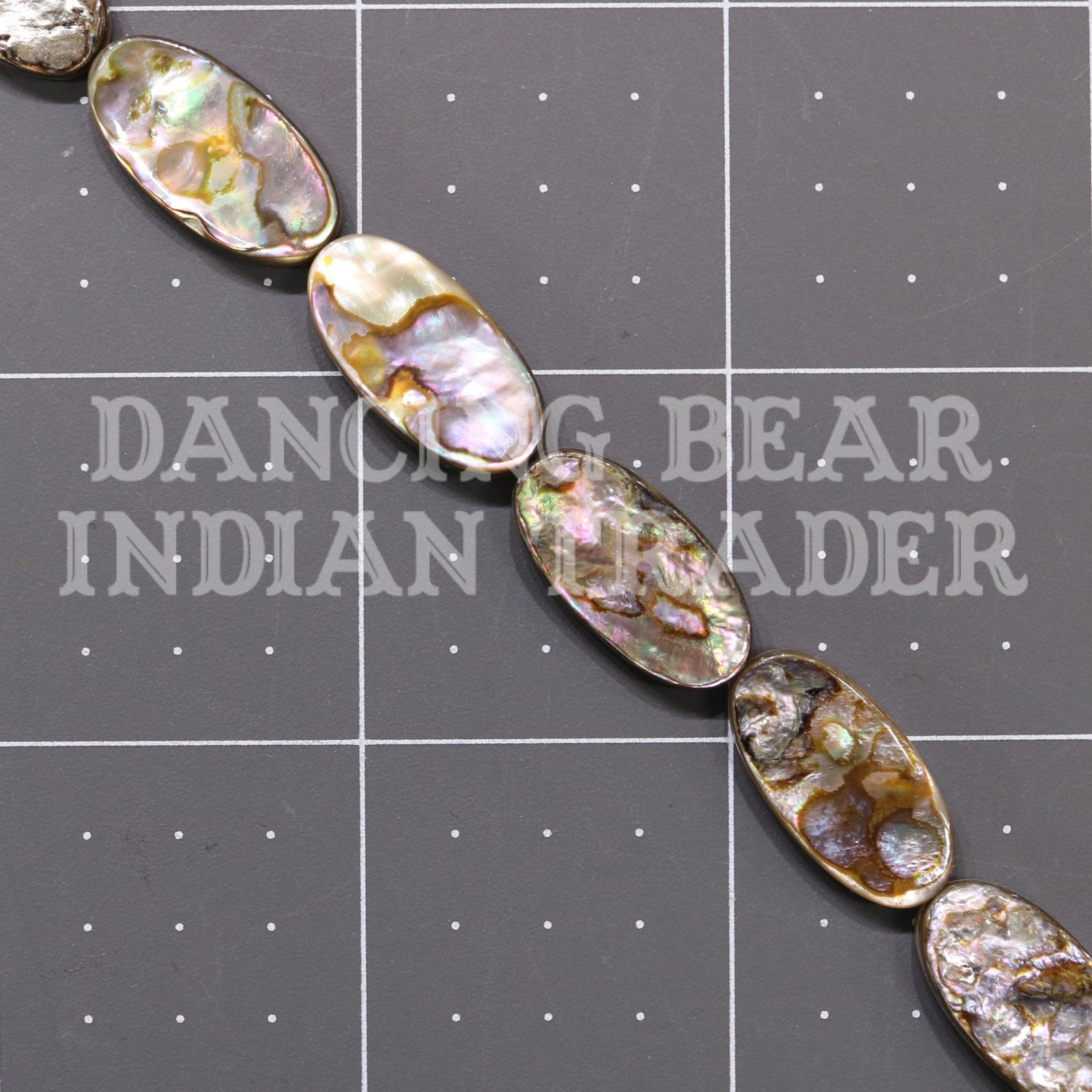 Abalone Oval 10x20mm-ST