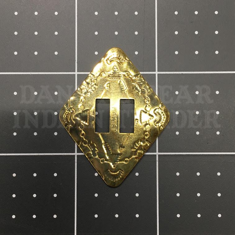 Concho Diamond Brass, 6pc