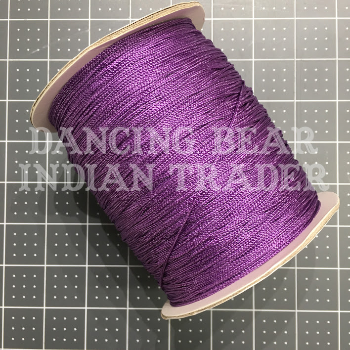 Chainette Shawl Fringe Red-Purple-281