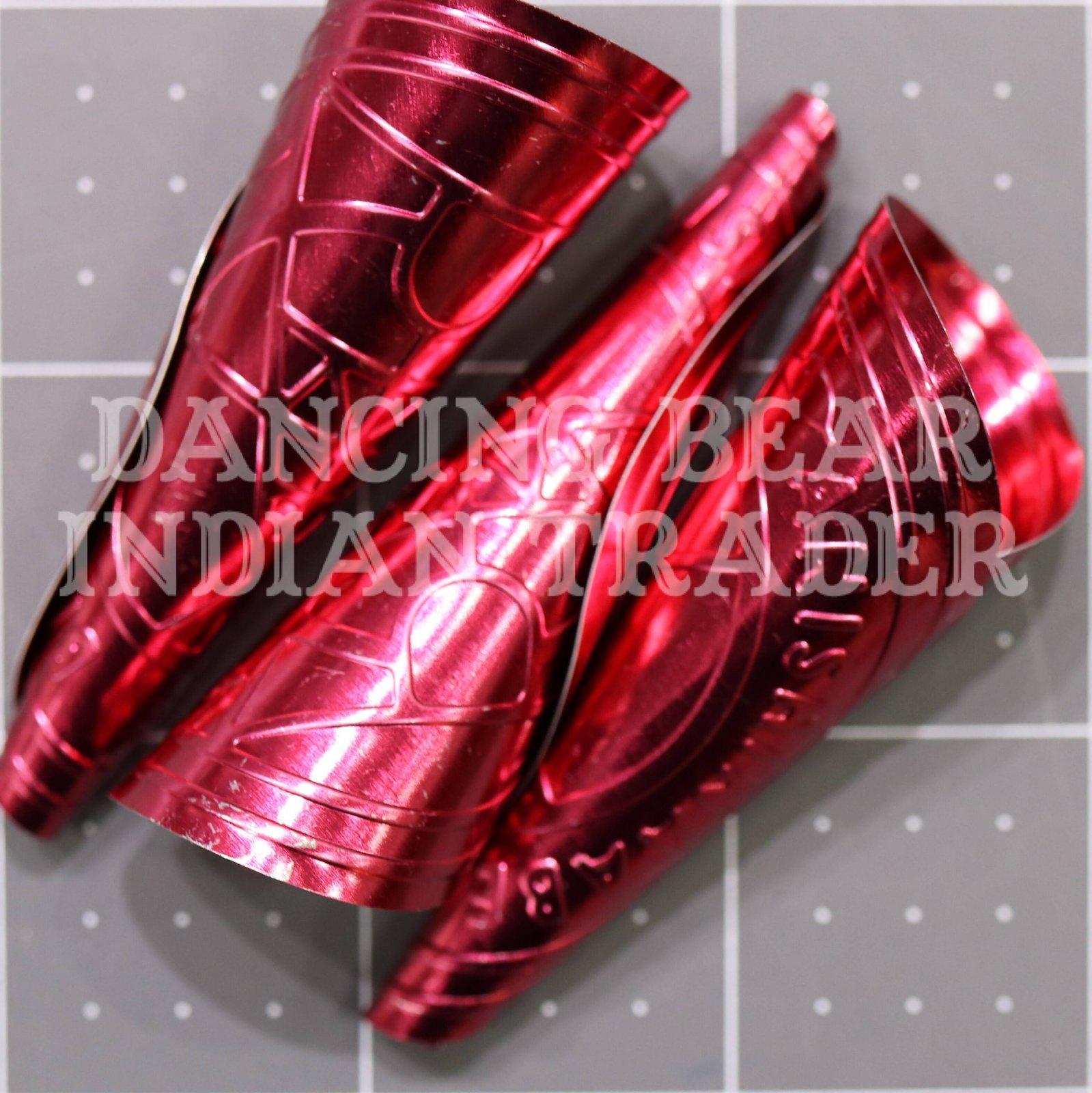 Anishinaabe Bimishimo Adult Jingles 100 pc Ruby Red