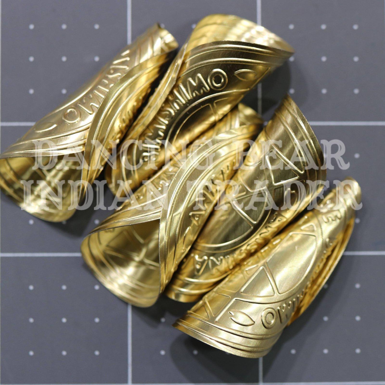 Anishinaabe Bimishimo Child Jingles 100 pc Gold Brass