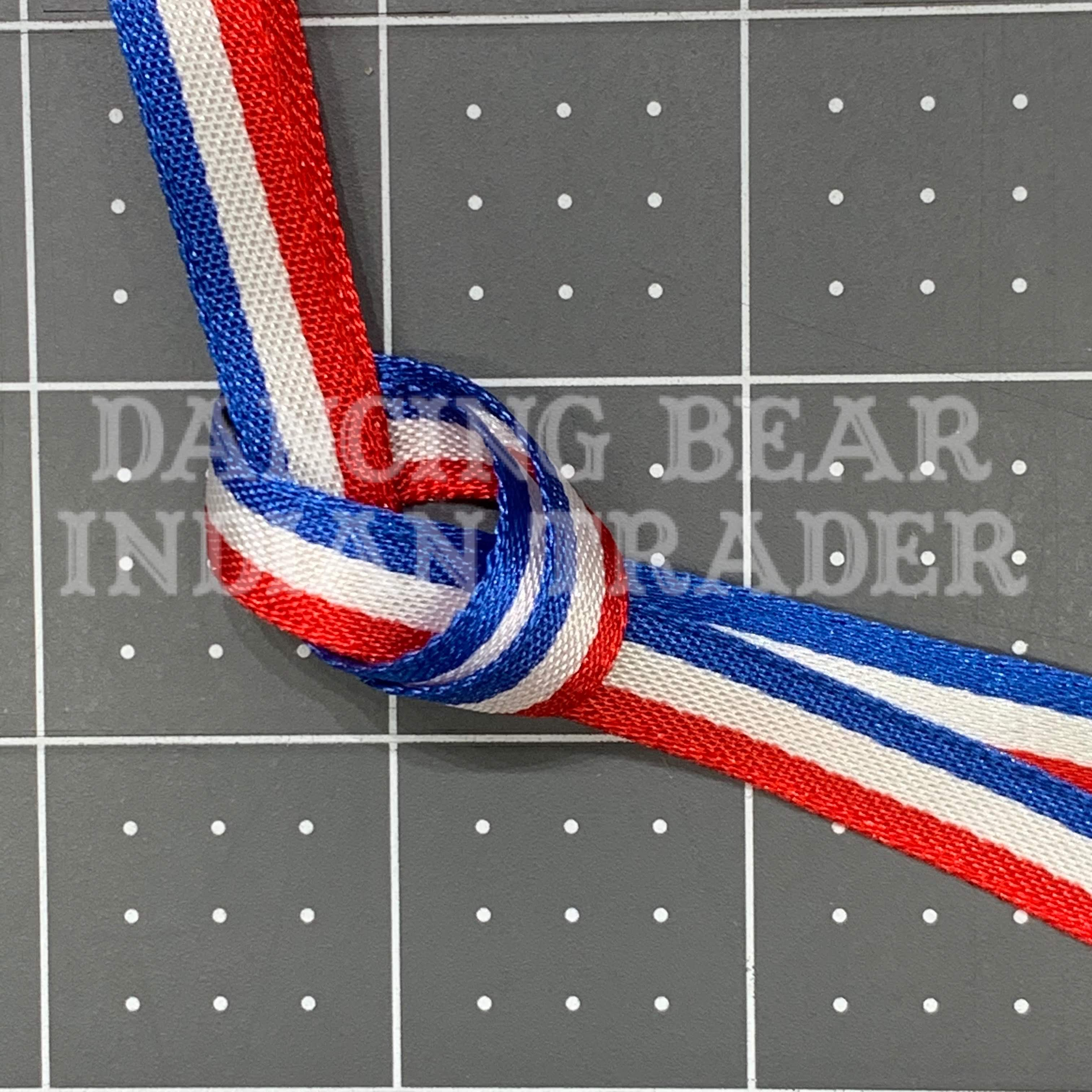 Woven Patriotic Ribbon per yard, many sizes