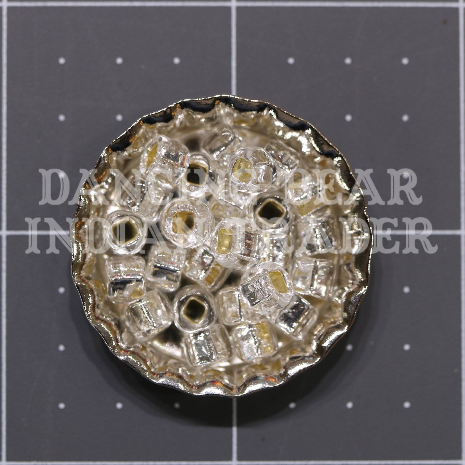 30-1 Crystal Silver Lined Japanese 3/0