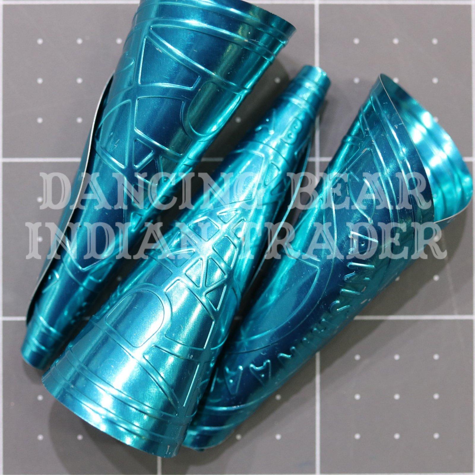 Anishinaabe Bimishimo Adult Jingles 100 pc Turquoise