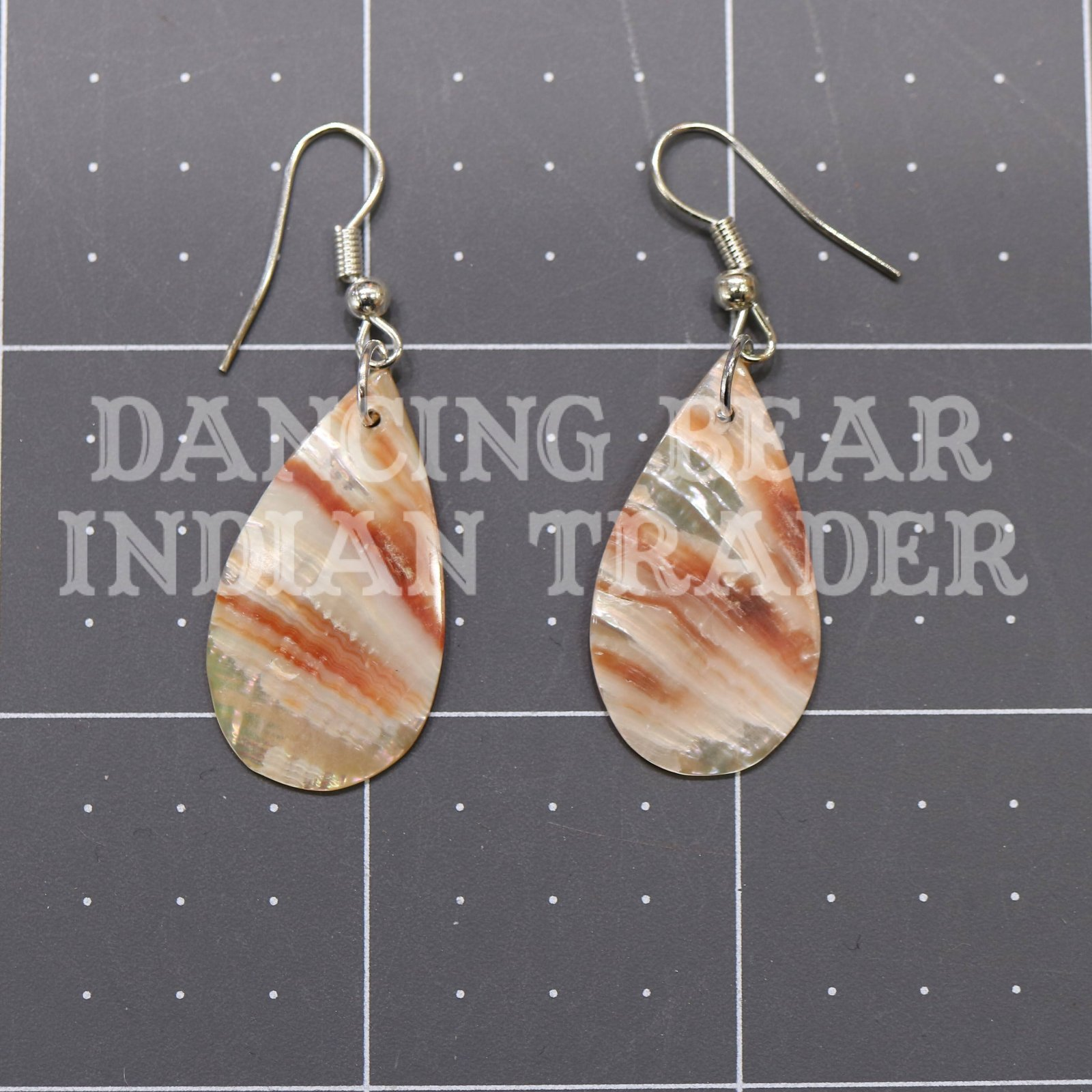 Red Abalone Earrings Assorted Shapes